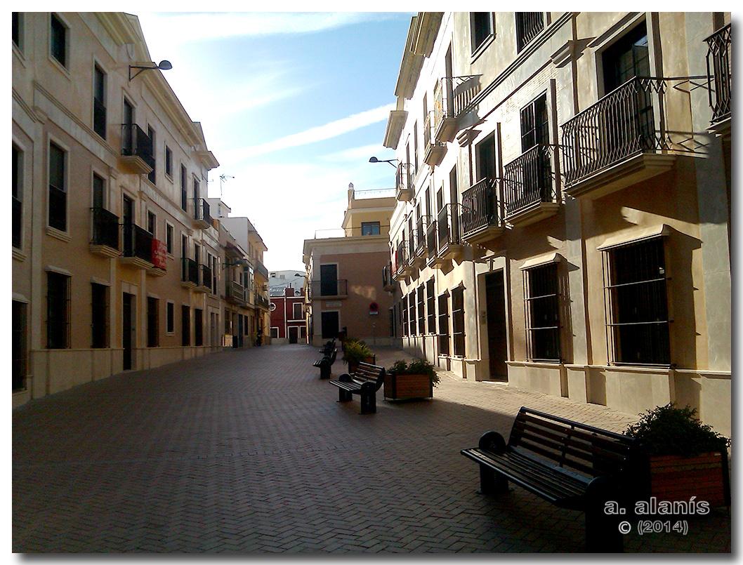 Calle Alegría nueva construcción