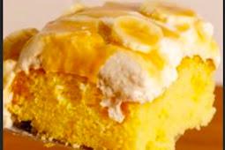Banoffee Poke Cake