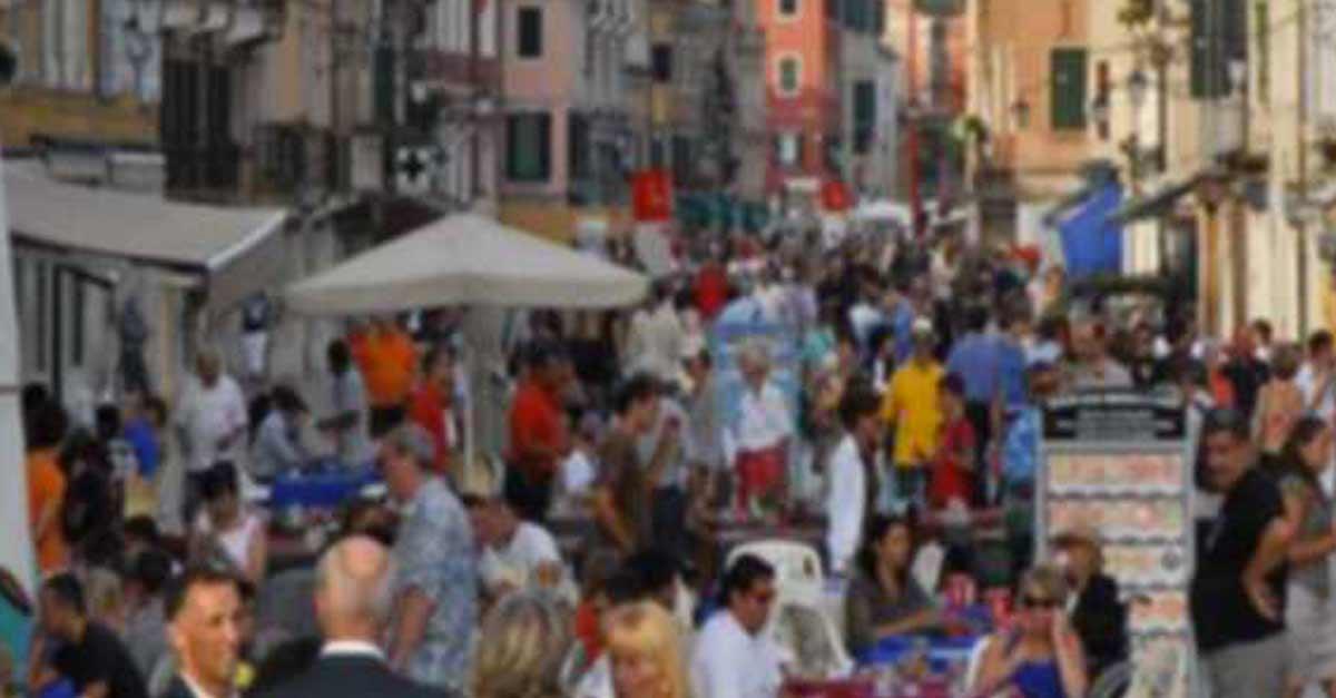 Venezia pre-coronavirus: Via Garibaldi affollata