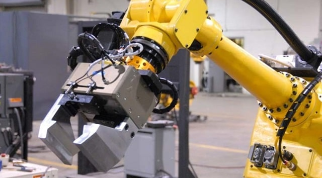deep learning robotic gripping manufacturing robots