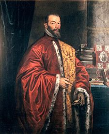 Grimani's father, Antonio, a wealthy merchant who was elected Doge of Venice