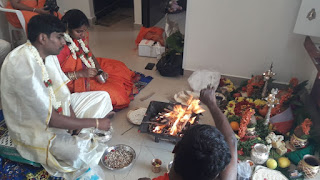 Gruhapravesh with Homam
