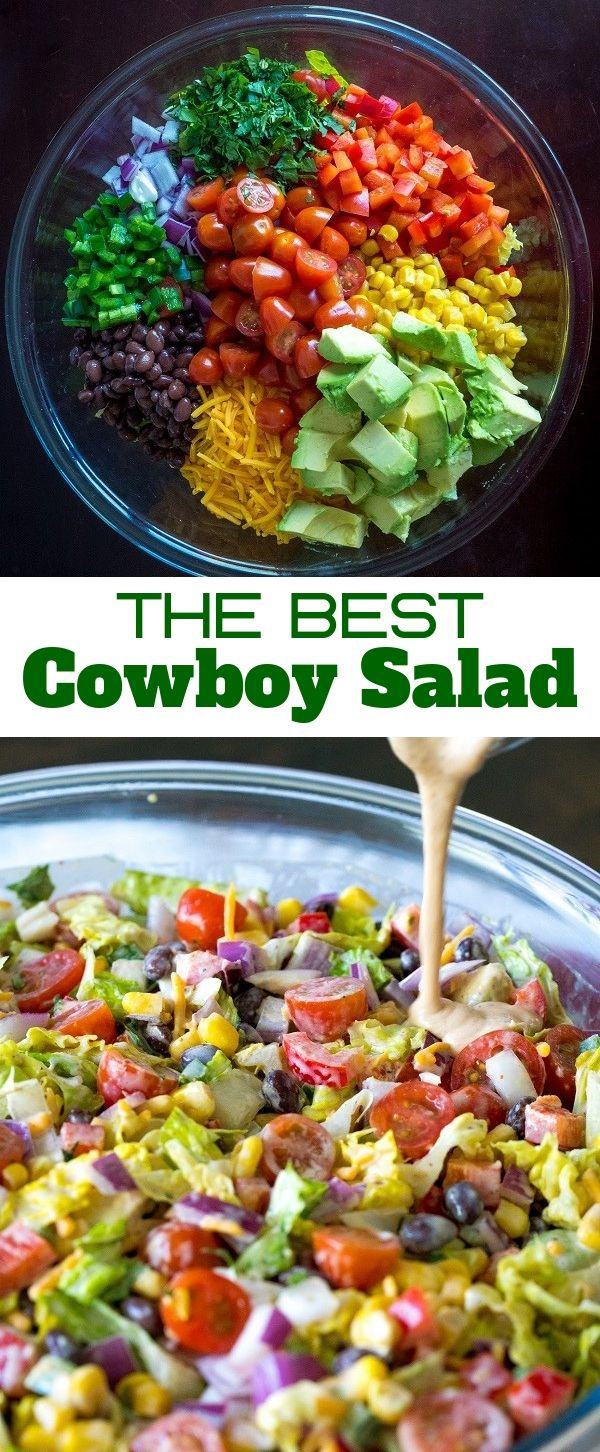 The Best Cowboy Salad