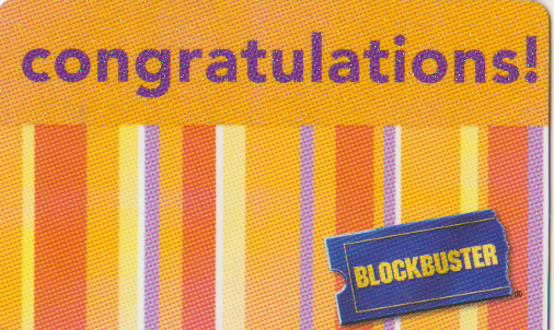 blockbuster gift card collectomania blockbuster cards 4631