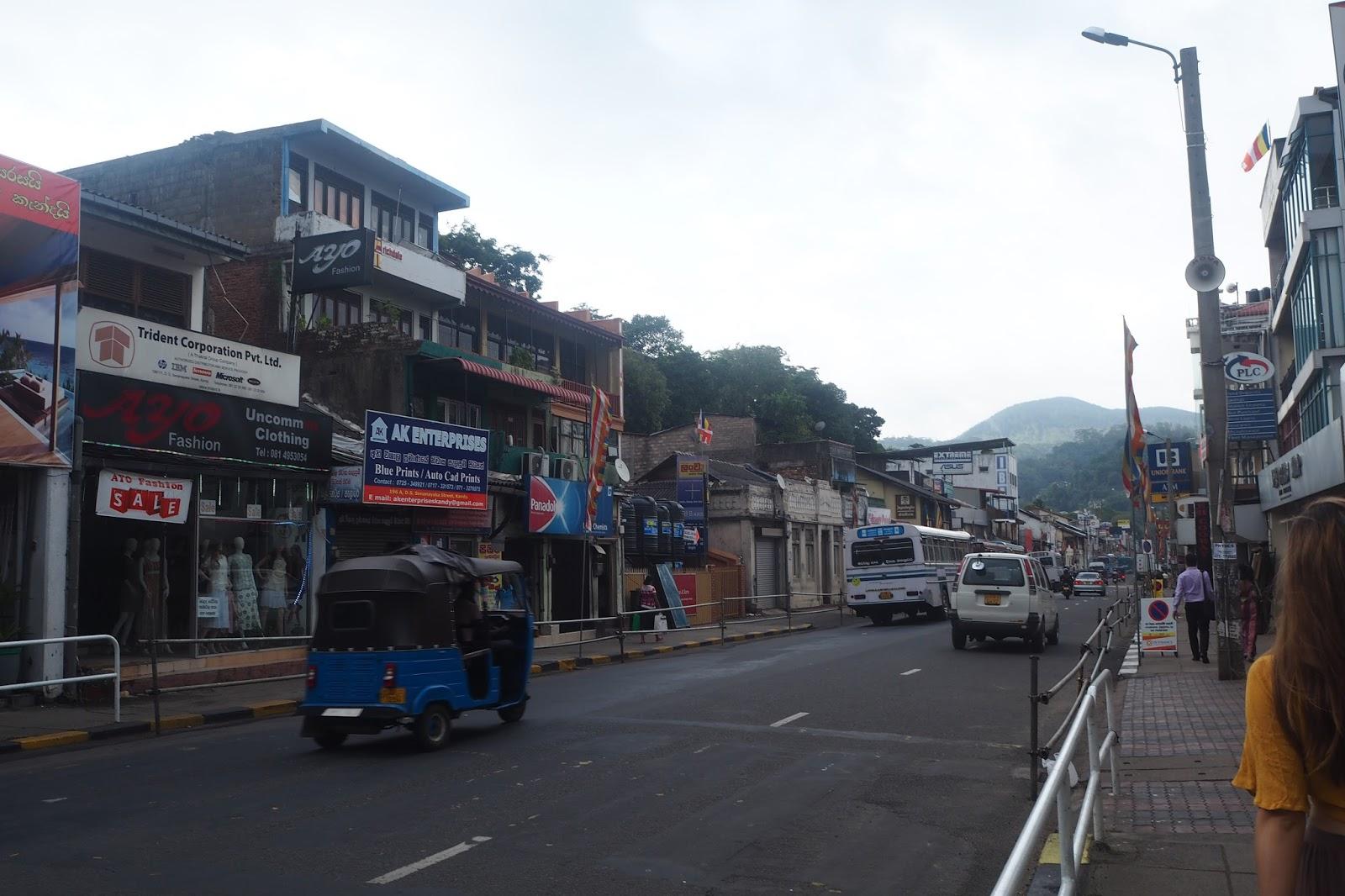 tuk tuk Kandy, Sri Lanka