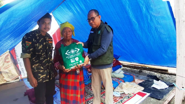 Tim NU Peduli Terus Dampingi Warga Terdampak Gempa Maluku
