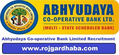 Abhyudaya Co-operative Bank Limited Jobs