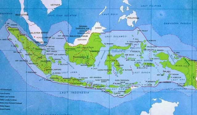Jumlah Provinsi di Indonesia Dari Tahun 1945 Sampai Saat ini