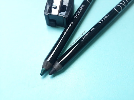 MAKE OVER Eyeliner in Black Jack & Classic Green