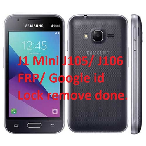 Bypass Google Account (FRP) On Samsung Galaxy J1 Mini (j106) 2020 Updated.
