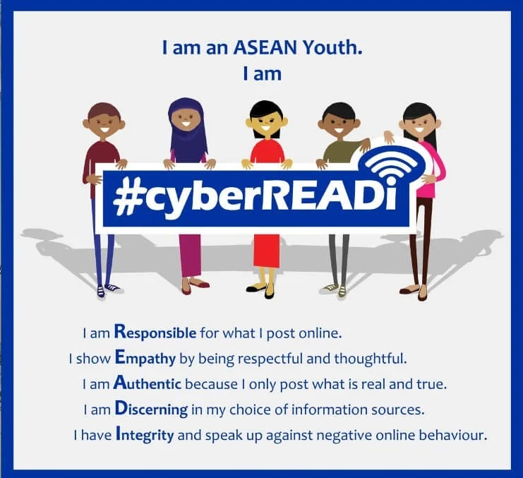 PIA Trains #cyberREADI Youths in Internet Age