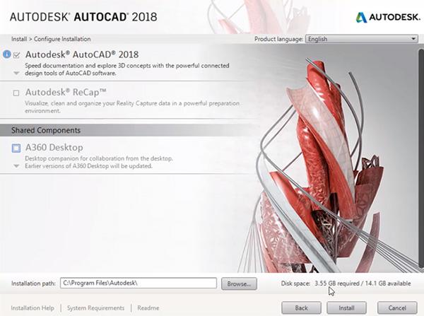 Hướng dẫn cài đặt AutoCAD 2018 chi tiết bằng hình ảnh e