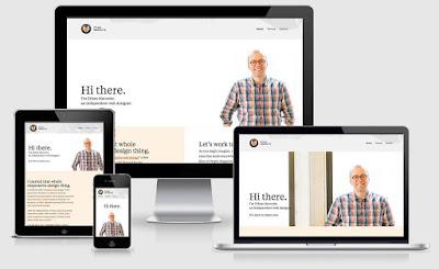 Ejemplo de diseño web adaptable para tableta, móvil, portátil y ordenador de sobremesa