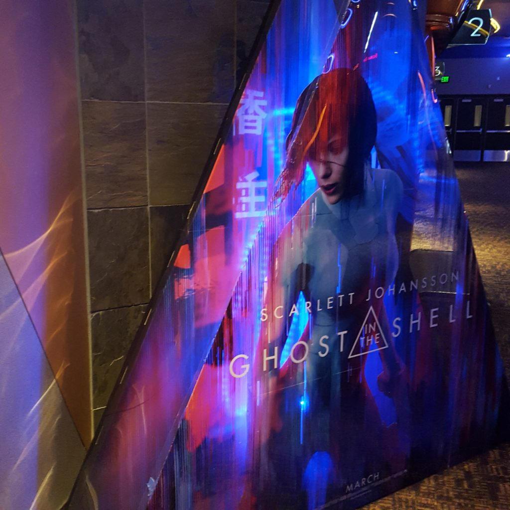 Stand reklamowy filmu Ghost in the Shell - Zdjęcie 4