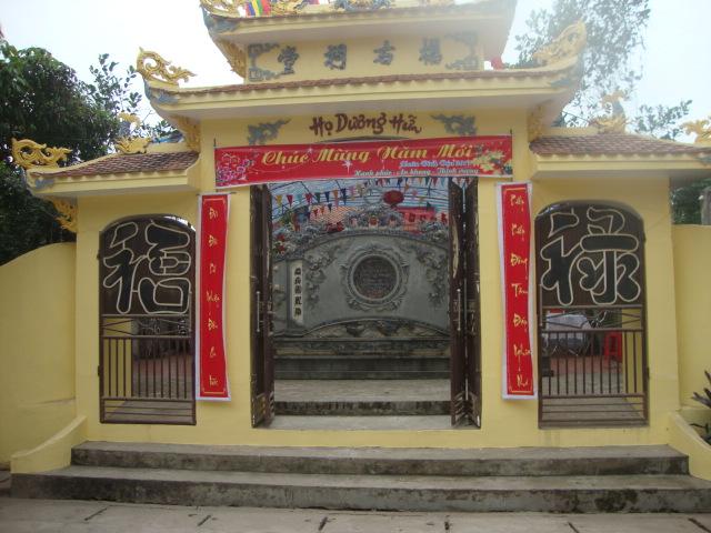 Giới Thiệu nhà thờ Chi họ Dương Hữu Xã Quảng Châu TP Hưng Yên