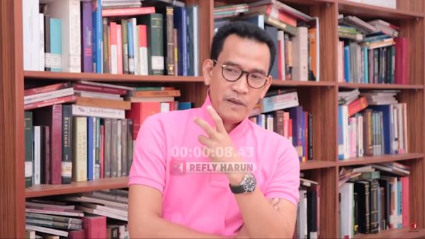 Refly Harun: Jokowi Tak Bisa Seenaknya Nonaktifkan Anies Baswedan