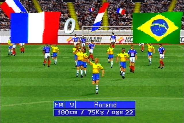 Games que marcaram - International Superstar Soccer Pro '98 - Ronarid