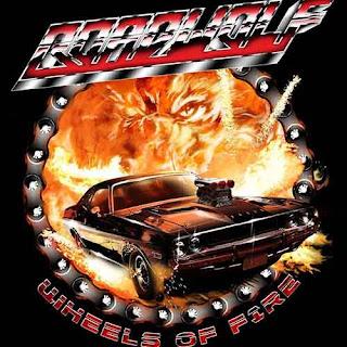 """Το single των Roadwolf """"Wheels Of Fire"""""""
