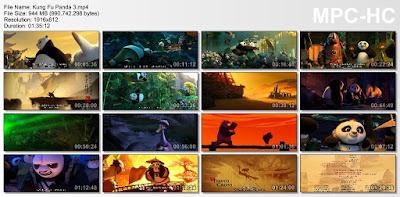 Film Kung Fu Panda 3 Subtitle Indonesia HD Screenshots