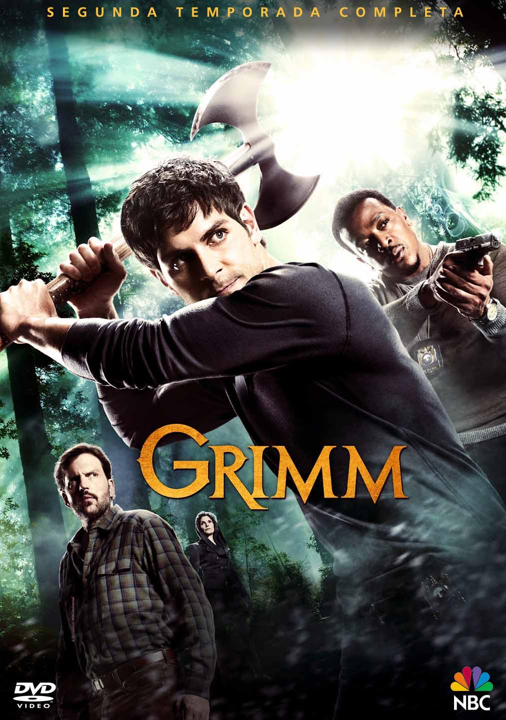 Grimm 2ª Temporada Torrent - BluRay 720p Dual Áudio