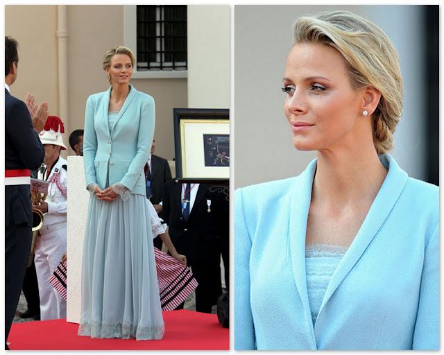 Княгиня Монако идеальный пример того, как должна одеваться женщина с неидеальной фигурой!!!