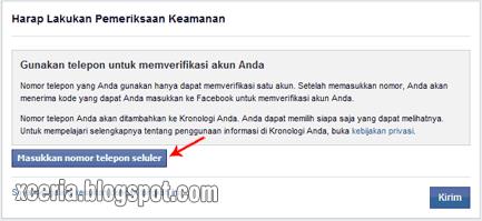 Cara Membuat Facebook - Keamanan