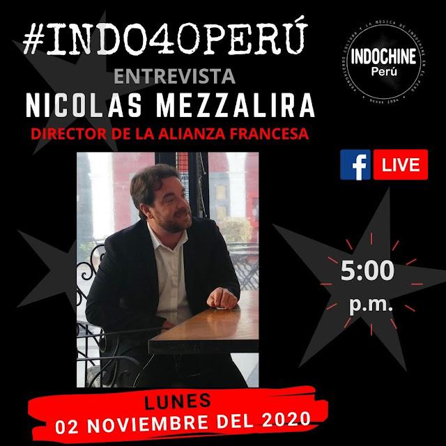 #INDO40PERU - Entrevista a Nicolas Mezzalira (Director de la Alianza Francesa)