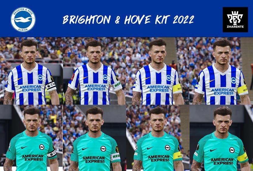Brighton & Hove Albion Kits 2021-2022 For eFootball PES 2021