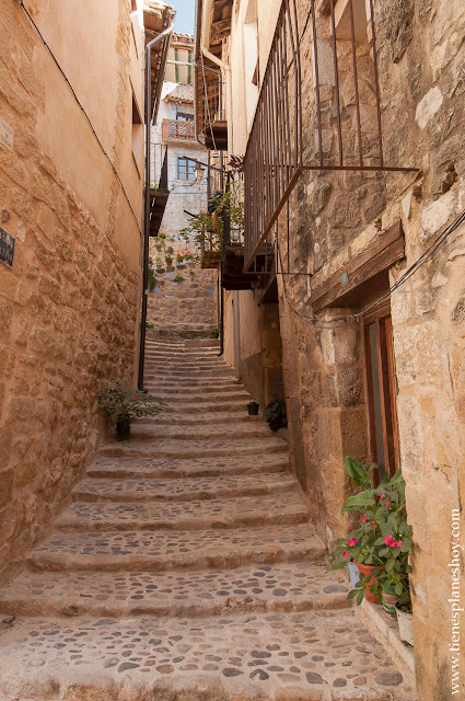 Valderrobres turismo viaje Matarraña pueblos bonitos españa