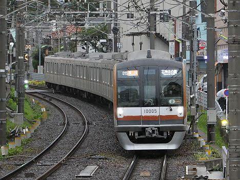 【8両化した10105F充当】10000系急行 石神井公園