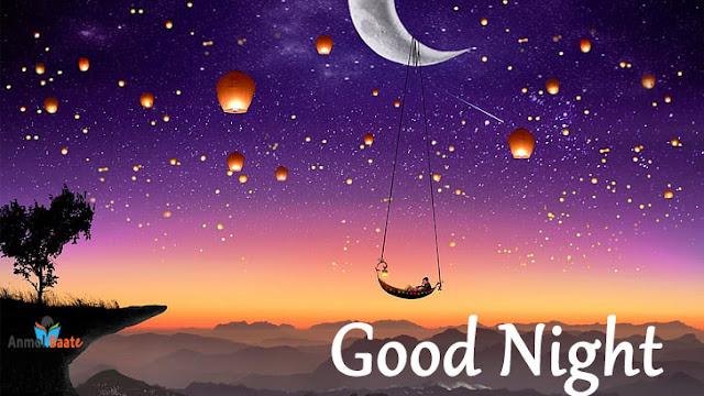Good Night Images in Hindi -गुड नाईट इमेज इन हिंदी