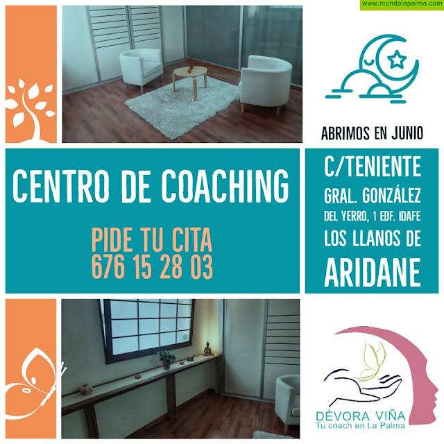 Tu Coach en La Palma, Devora Viña Carrascoso, abre las puertas de su nuevo Centro en Los Llanos de Aridane