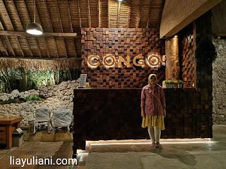 Dinner at Congo Cafe Bandung