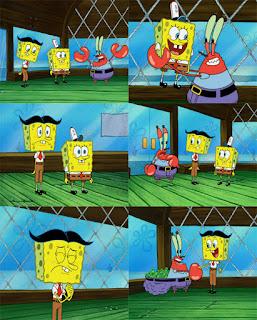 Polosan meme spongebob dan patrick 27 - sepupu spongebob stanley yang suka bikin onar
