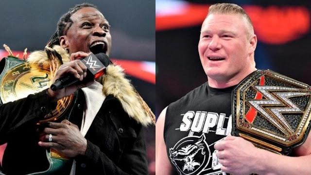 Brock Lesnar gostou de atuar ao lado de R-Truth