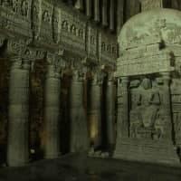 Big Architectural Stone Temple Escape