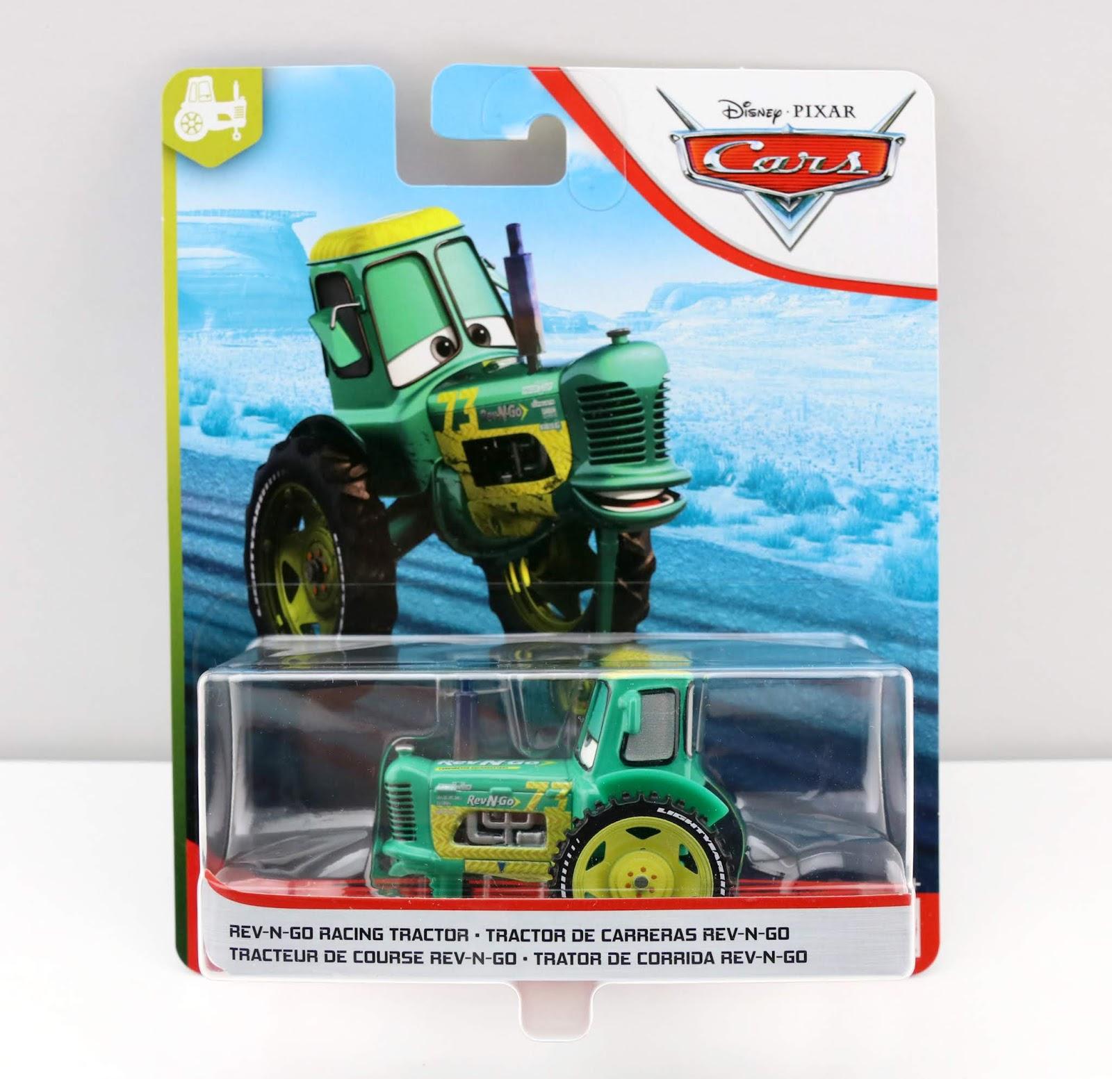 Cars 3 Rev-N-Go Racing Tractor diecastCars 3 Rev-N-Go Racing Tractor diecast