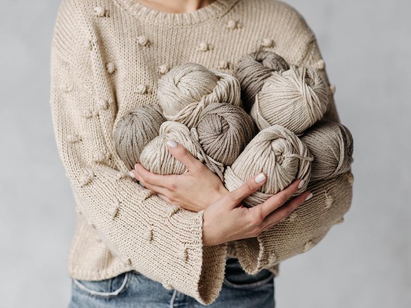 свитер пряжа как хранить и стирать