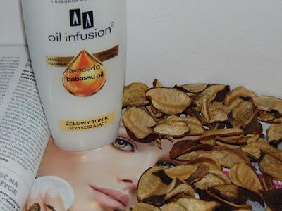 AA Oil Infusion 2, Żelowy tonik oczyszczający