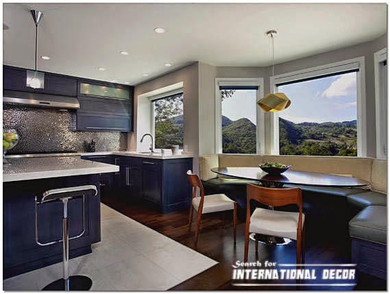 Design kitchen with bay window, basic tips