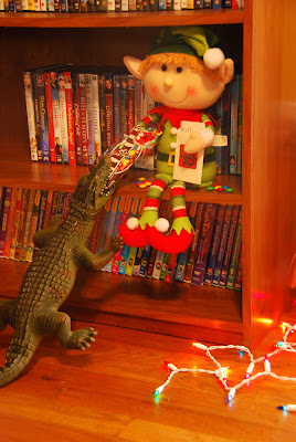 elf on the shelf advent bible study crocodile bite