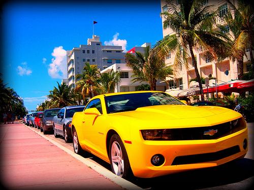 Alugar carro em Miami - Camaro