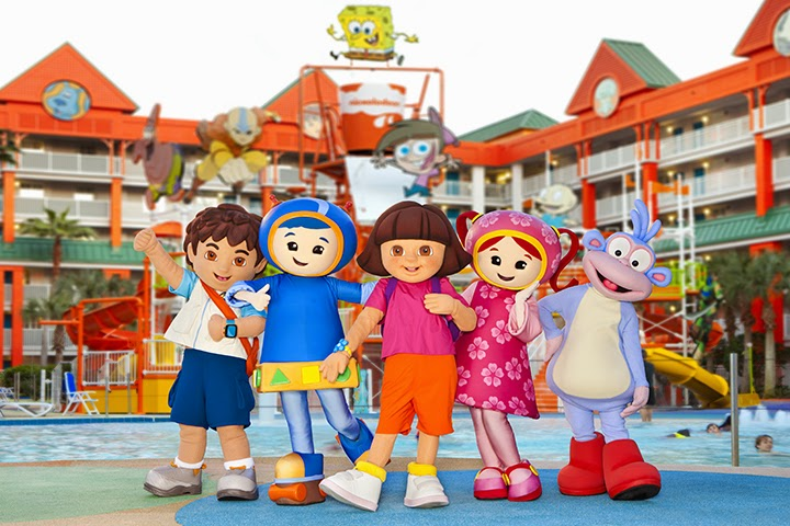 Dora And Nick Jr Friends At The Nickelodeon Suites Resort In Orlando Photo Business Wire