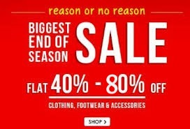 Snapdeal - end of season sale
