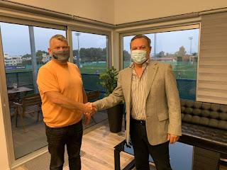 Επίσκεψη του ιδιοκτήτη της Pafos FC, Roman Dubov στον Αρχάγγελο