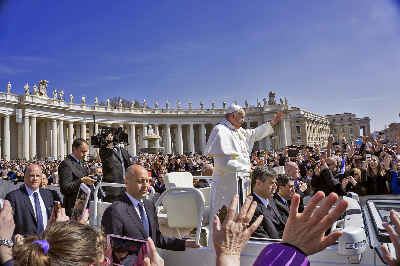 Easter Mass at The Vatican with Pope Francis