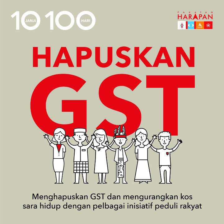 Janji Hapuskan GST