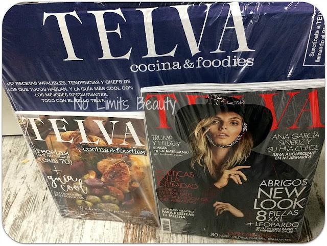 Regalos revistas noviembre 2016: Telva