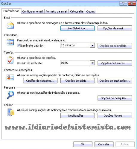 Calendario In Spagnolo.Outlook 2007 Alcuni Menu Sono In Spagnolo I Diario Del