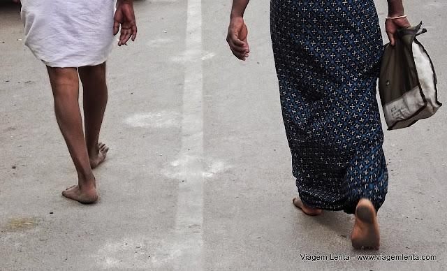 O padrão indiano no contato ao solo